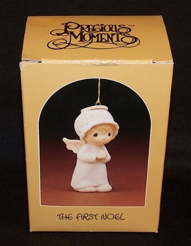 """Precious Moments Retired Girl Angel Ornament """"The First Noel"""" (#E2368)"""