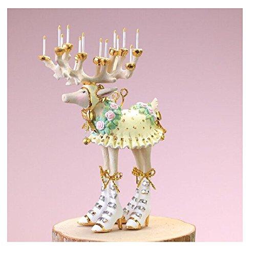 Patience Brewster Christmas Home Decor Moonbeam Mini Reindeer Ornament – Donna
