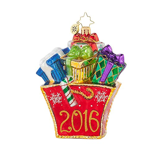 Christopher Radko Presently Shopping Christmas Ornament