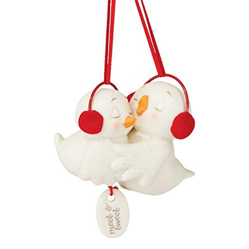 Department 56 Snowpinions From Meet & Tweet Snowbird Ornament 3.15 In