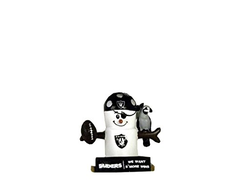 NFL We Want Smore Wins Ornaments (Raiders)