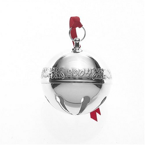 Wallace Limited Collector's Edition 2004 34th Edition Silverplated Christmas Sleigh Bell Ornament