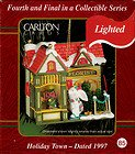 Holiday Town – 1997 Lighted Ornament by Carlton Cards – New