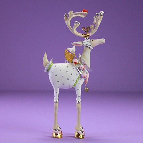 Patience Brewster Christmas Home Decor Moonbeam Mini Reindeer Ornament – Cupid