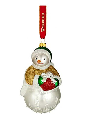 Waterford 2016 Holiday Heirloom Nostalgic Collection Lismore Leslie Snowman Ornament