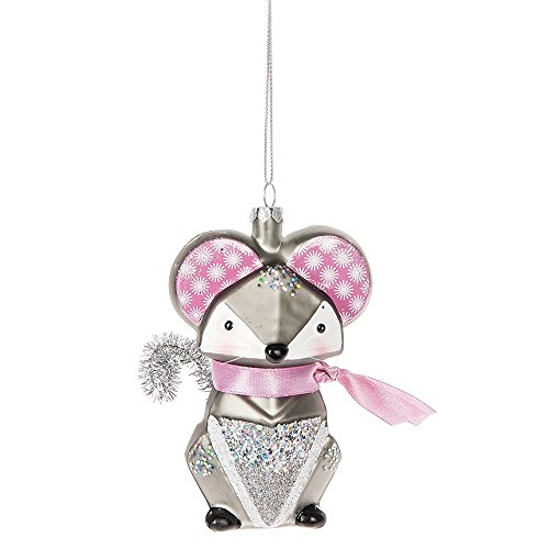 Midwest CBK Animal Menagerie Ornament – Mouse 123145