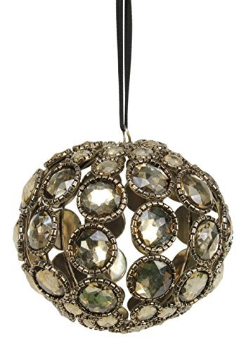 Sage & Co. XAO17068 3 Antique Gem Ball Ornament by Sage & Co.