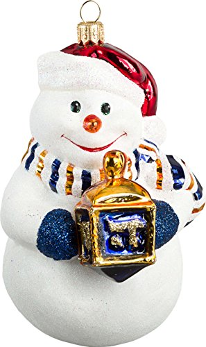 Joy to the World Interfaith Union Snowman Hannukah Ornament