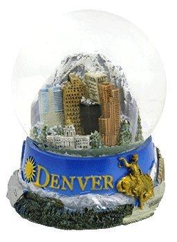 Denver Panorama Snow Globe