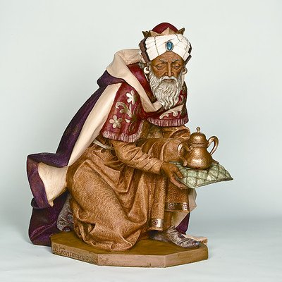 Fontanini 52316 50″ Scale Standing King Balthazar Figurine