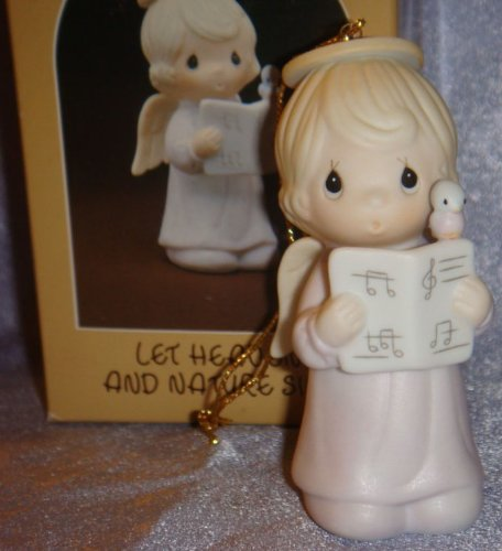 Precious Moments Ornament Let Heaven and Nature Sing