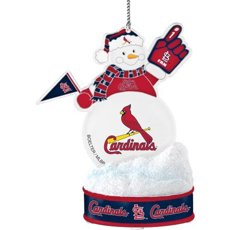 Topperscot by Boelter Brands MLB LED Snowman Ornament, St. Louis Cardinals