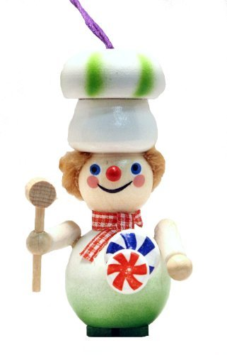 2013 Steinbach Candy Maker German Wooden Christmas Ornament by Pinnacle Peak Trading Company