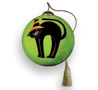 black cat ornament susan winget