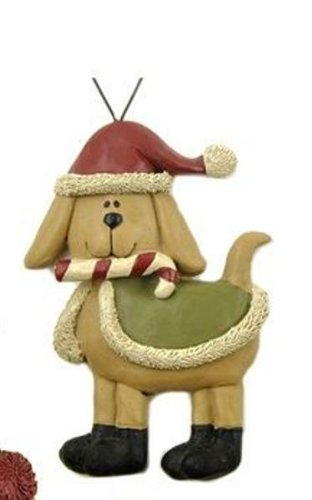 Blossom Bucket Sweater Dog Ornament, Choice of Styles (candycane)