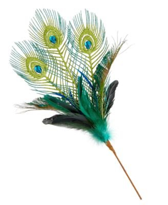 Holiday Lane Peacock Feather Christmas Tree Pick