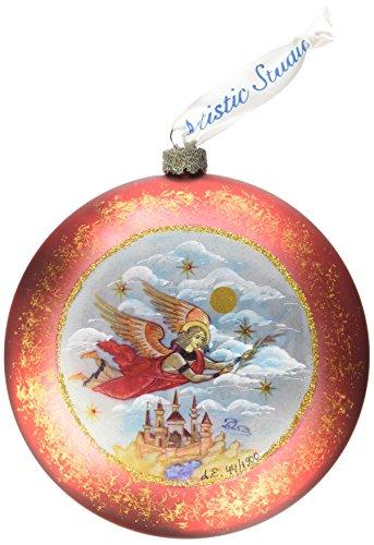 G. Debrekht Limited Edition Guardian Angel Glass Ornament
