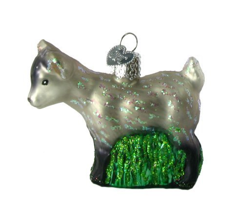 Old World Christmas Pygmy Goat Ornament by Old World Christmas