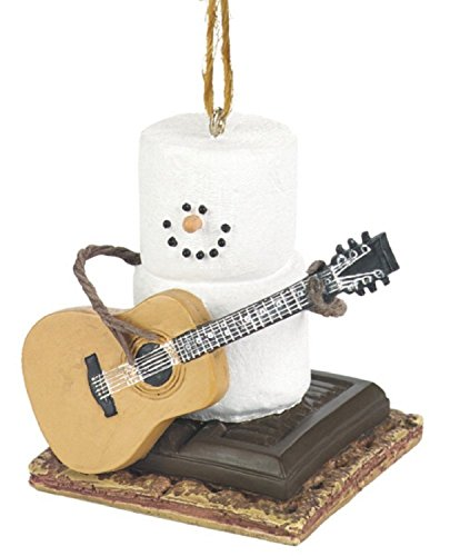 (Ship from USA) Christmas Decoration S'mores with Guitar Midwest-CBK Ornament – NEW /ITEM#H3NG UE-EW23D287939