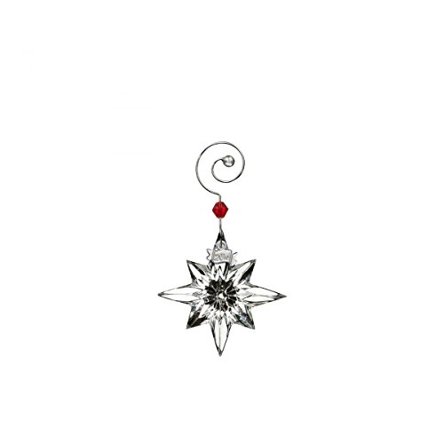 2016 Waterford Annual Miniature Star Crystal Christmas Ornament Decoration Mini