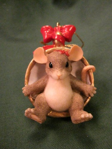 Cup of Christmas Cheer Charming Tails Ornament 86796