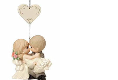 Precious Moments Wedding Gifts On the Threshold of A Lifetime of Happiness Bisque Porcelain Ornament 163010