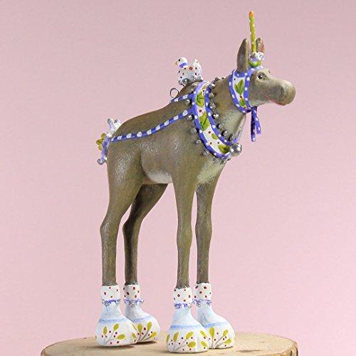 Patience Brewster Mini Maude Moose Ornament