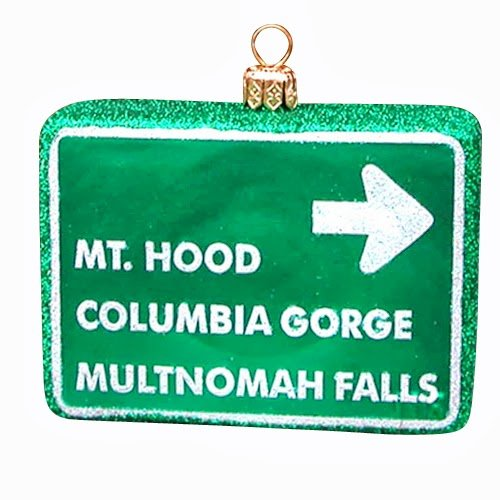Ornaments to Remember: OREGON SIGHTS Christmas Ornament