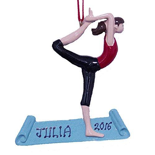 Personalized Yoga Pose Ornament-Free Personalization