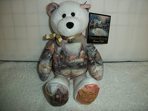 "Thomas Kinkade Gallery Treasures Collections Bear Christmas Issue #001 ""A Christmas Welcome"""