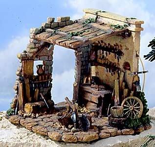 Fontanini 5″ Scale Carpenter's Shed