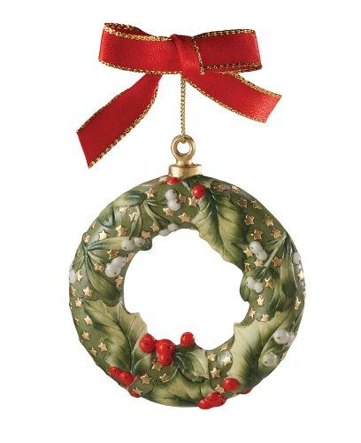 Spode Christmas Tree 2006 Annual Wreath Ornament