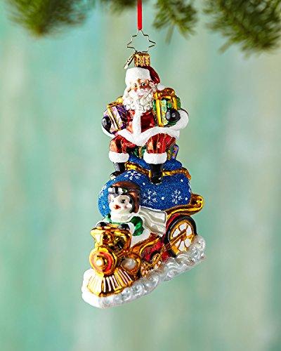 Christopher Radko Riding High Nick Christmas Ornament