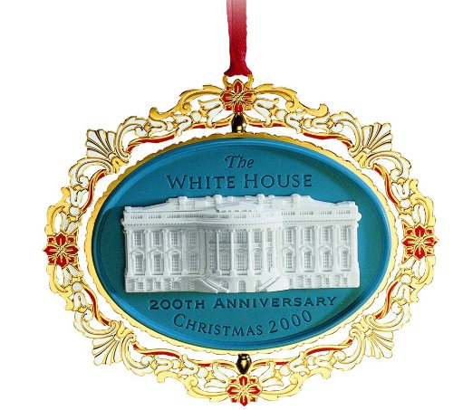 2000 White House Christmas Ornament, 200th Anniversary of the White House