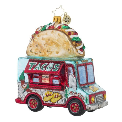 Christopher Radko Savor the Flavor Food & Drink Transportation Christmas Ornament