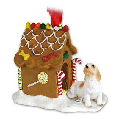 Petit Basset Griffon Vendeen Ginger Bread House Ornament