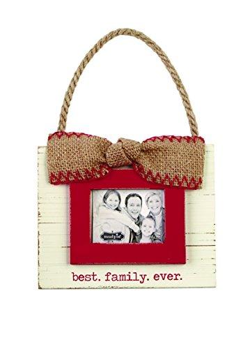 Mud Pie 4695236 Best Family Ever Ornament Fra