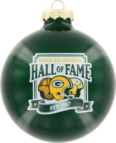 Green Bay Packers Round Ornament – Hall of Fame