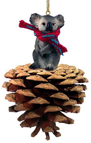 Conversation Concepts Koala Pinecone Pet Ornament