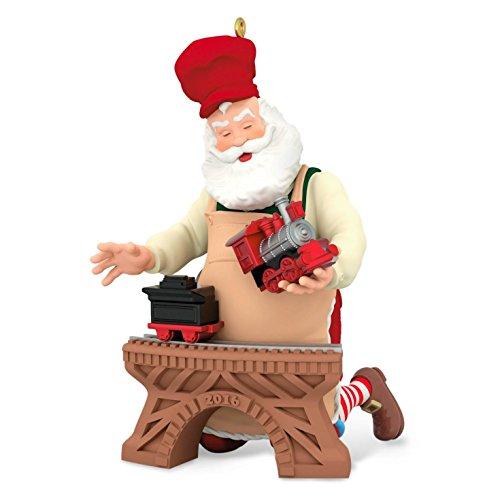 Hallmark Keepsake 2016 Toymaker Santa Ornament
