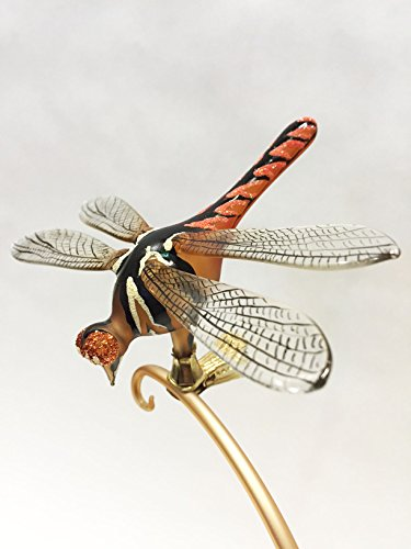 Ornaments to Remember: DRAGONFLY Christmas Ornament (Copper/Black)