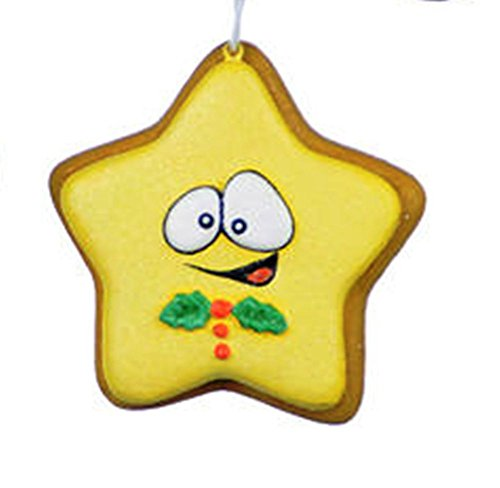 One Hundred 80 Degrees Sugar Cookie Ornament, Choice of Style (Star)