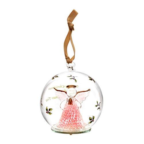 Spode Christmas Tree Ornament, Glass Angel