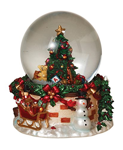 100mm Christmas Tree Mucial Waterball