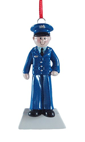 United States Air Force Airman Resin Hanging Christmas Ornament