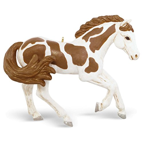 Hallmark 2016 Christmas Ornament American Paint Horse Ornament