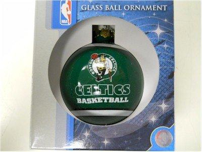 Forever Collectibles Boston Celtics Glass Ball Ornament