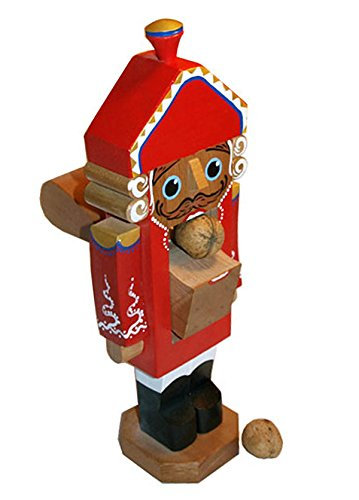 Popular 2 Year Old Toys : Wooden real working nutcracker from russia ″ tall