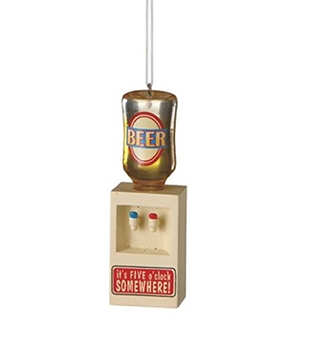 Midwest-CBk Man Cave It's Five O'Clock Somewhere Beer Water Cooler Ornament