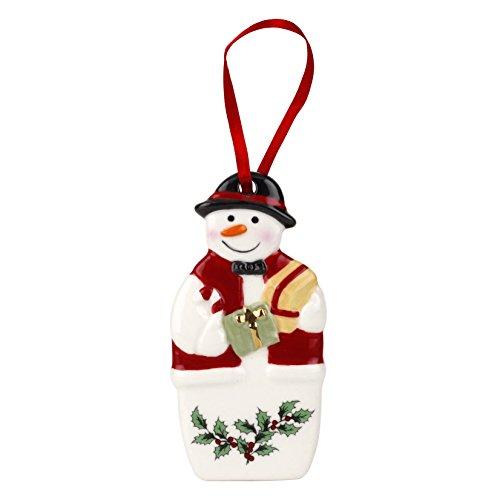 Spode Christmas Tree Ornament, Mr. Snowman